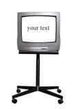 TV en soporte imagenes de archivo