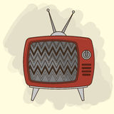 TV entertainment design Stock Images