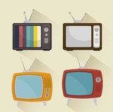 TV entertainment design Royalty Free Stock Photos