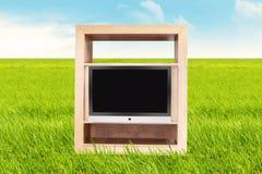TV esterna Fotografie Stock Libere da Diritti