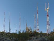 TV et émetteurs radioélectriques Photographie stock libre de droits