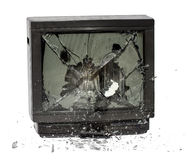 TV explode Stock Photography