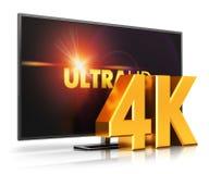 TV för 4K UltraHD Royaltyfri Fotografi