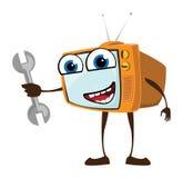 TV felice Illustrazione Vettoriale
