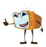 TV felice Illustrazione di Stock