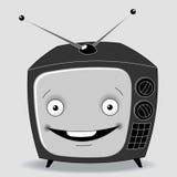 TV feliz Fotos de archivo libres de regalías
