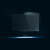 TV Flat Screen Icd Royalty Free Stock Images
