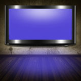 TV flat screen lcd Royalty Free Stock Photography