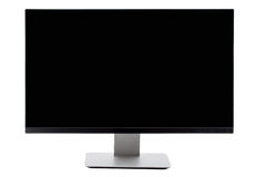 TV flat screen lcd, plasma, tv mock up. Black HD monitor. Royalty Free Stock Image