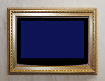 TV in frame Royalty Free Stock Photos