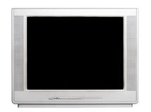 TV front view Stock Images