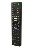 TV futée à télécommande Image stock