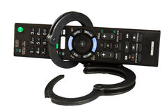 TV futée à télécommande Photo libre de droits