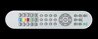 TV-geïsoleerde afstandsbediening Royalty-vrije Stock Afbeeldingen