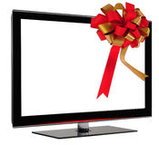 Tv Gift. Stock Image