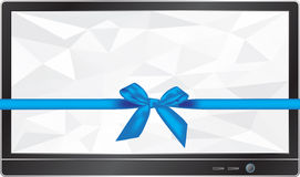 TV gift Stock Photo