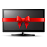TV gift Royalty Free Stock Photos