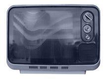 TV grande-angulaire image libre de droits