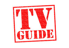 TV GUIDE Royalty Free Stock Photo