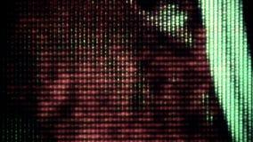 TV hałas 0735 obrazy stock