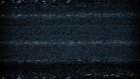 TV hałasu Statyczna pętla ilustracji