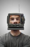 TV Head Stock Photos