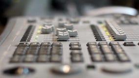 TV-het uitzenden materiaal stock footage