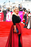 Tv host Ekaterina Odintsova at XXXVI Moscow International Film Festival Royalty Free Stock Photo