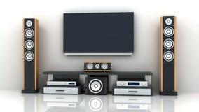 TV i audio kanał elektroniki i alfa zdjęcie wideo