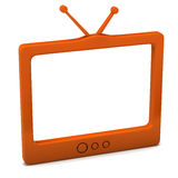 Tv icon Royalty Free Stock Image