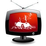 TV icon Stock Photo
