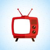 tv icon design Stock Photos