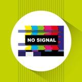 tv icon design Stock Images