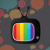 Tv icon Royalty Free Stock Photography