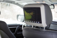 TV In The Car. Stock Photography