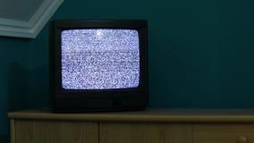 TV ingen signal arkivfilmer
