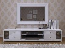 Free TV Init Modern Style Royalty Free Stock Image - 48276126