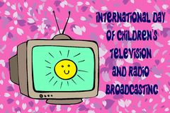Tv international day Royalty Free Stock Image