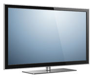 TV isolated Stock Image