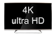 TV - 4K Royaltyfria Bilder