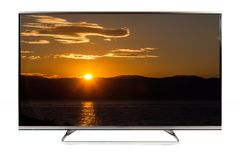TV - 4K postanowienia nowożytna telewizja Zdjęcia Royalty Free