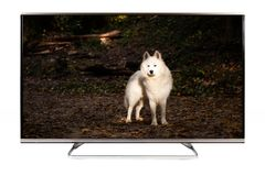 TV - 4K resolutie moderne televisie Royalty-vrije Stock Afbeelding
