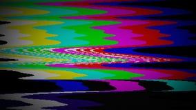 TV koloru bary ilustracja wektor