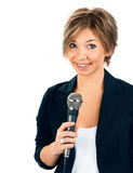 TV Korespondent. obrazy stock