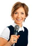 TV Korespondent. obraz stock