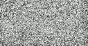 TV-Lawaai in analoge video en televisie wanneer geen transmissiesignaal stock afbeelding