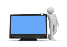 TV LCD Στοκ φωτογραφία με δικαίωμα ελεύθερης χρήσης