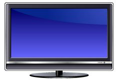 TV LCD Στοκ Φωτογραφία