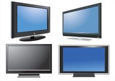 TV LCD διανυσματική απεικόνιση
