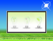 TV LCD flat screen (06) Stock Photo